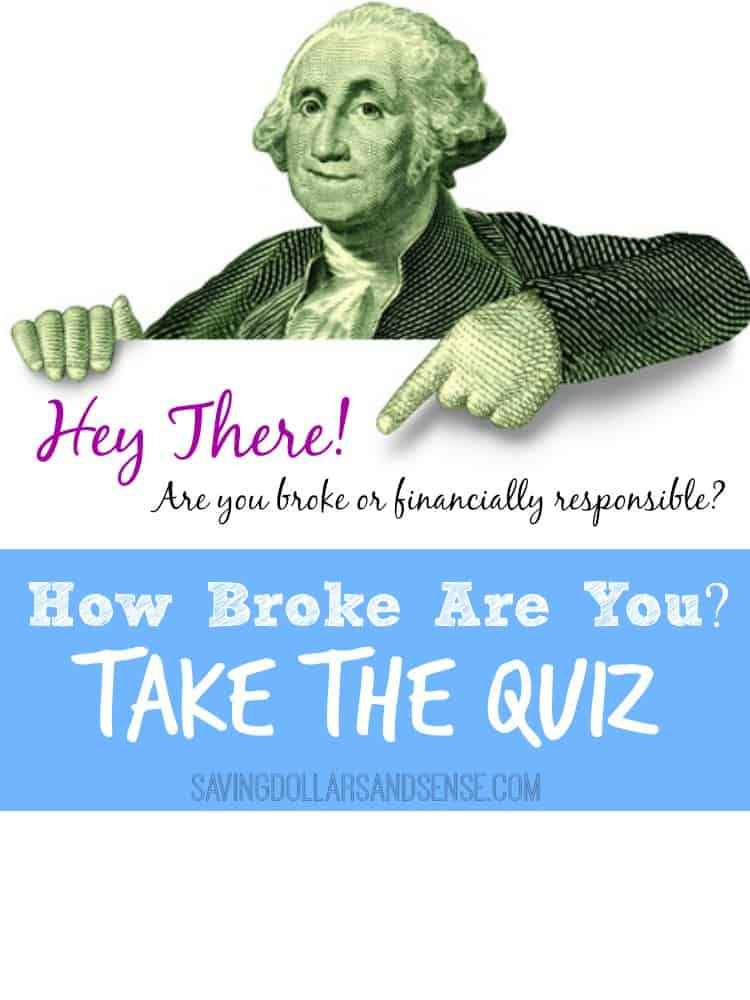 How Broke Are You Quiz