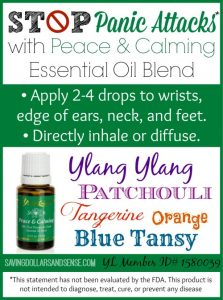 Everyday Essentials: Peace & Calming Oil
