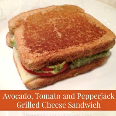 Grilled Cheese Sandwich With Tomato and Avocado