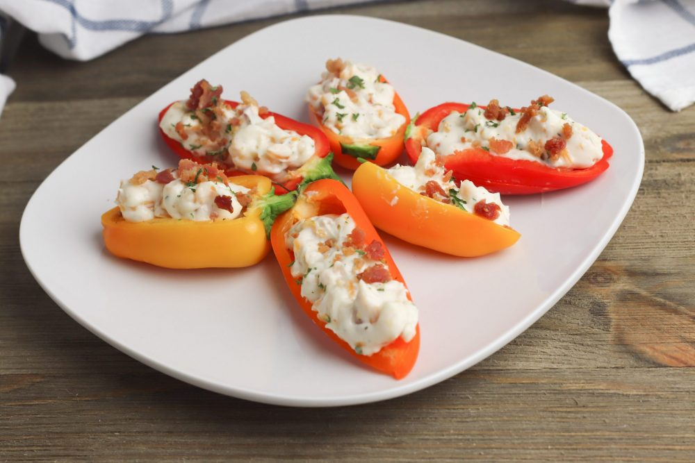 stuffed mini peppers appetizer