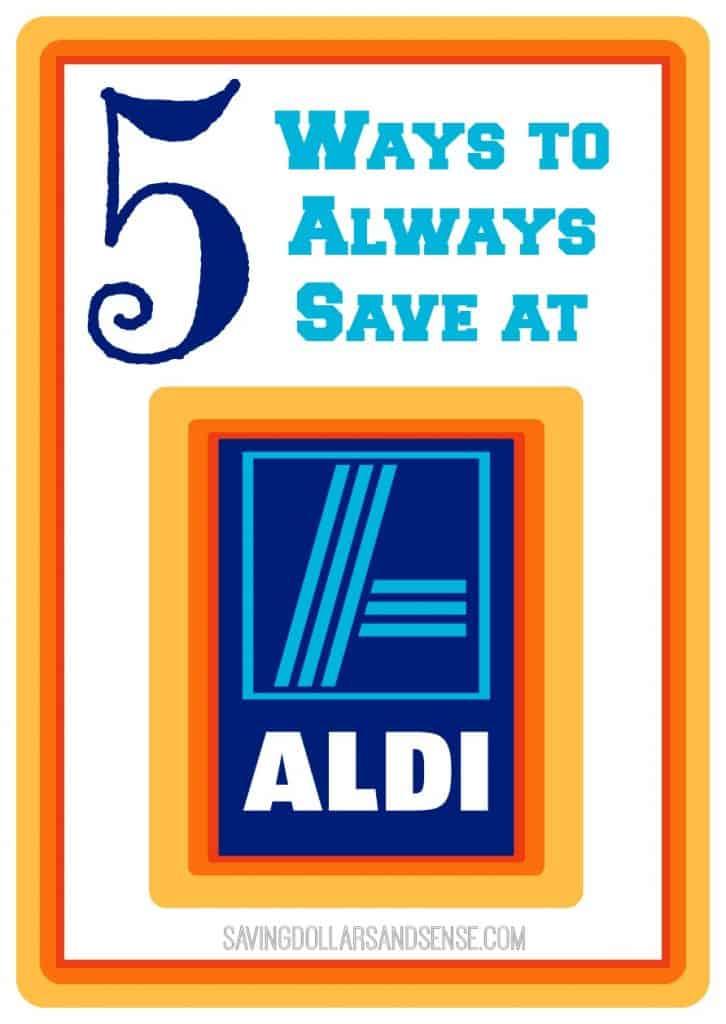 5 Ways to Always Save at Aldi