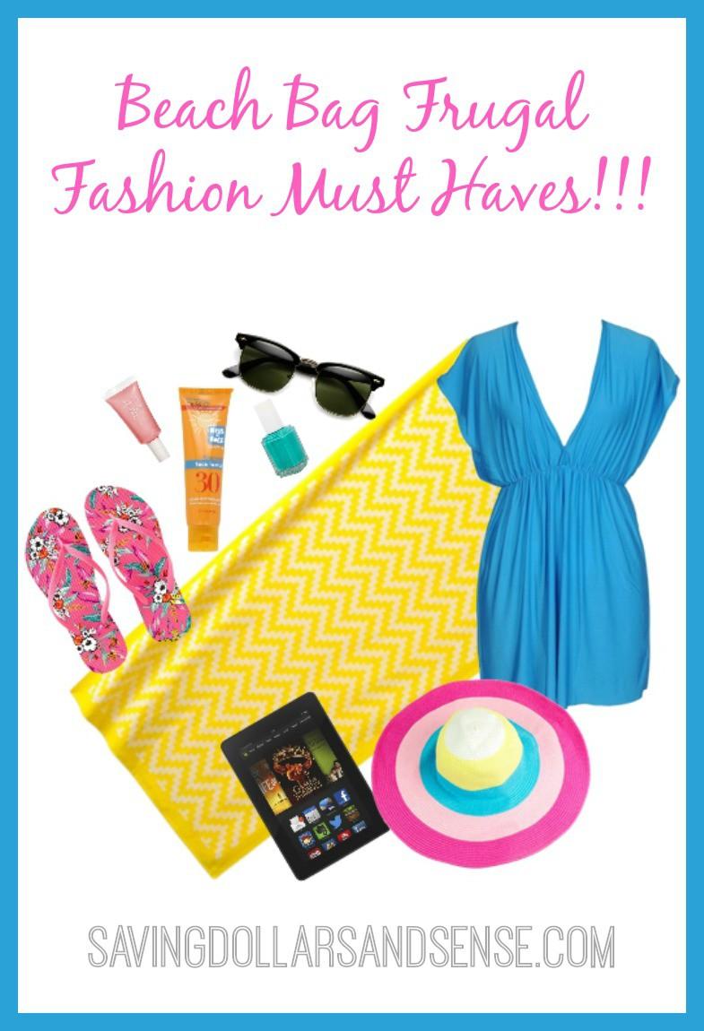 Beach Bag Frugal Fashion Pinterest