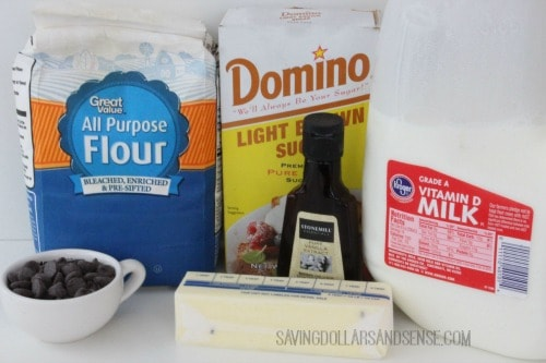 Edible Cookie Dough Ingredients