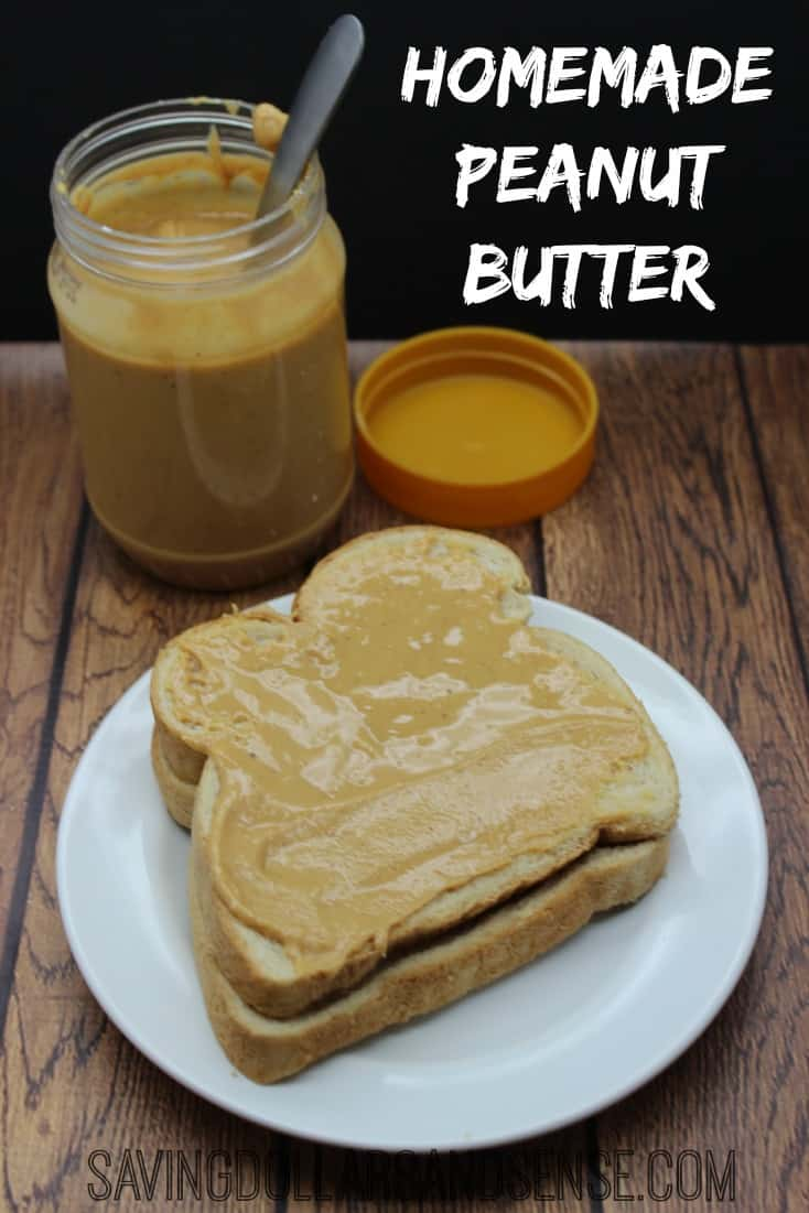 How to Make Homemade Peanut Butter - Saving Dollars & Sense