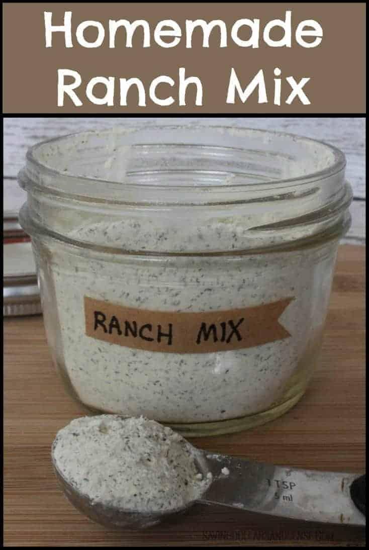 Copycat hidden valley ranch mix for Easy ranch
