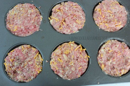 Mini Meatloaf Muffin Pan