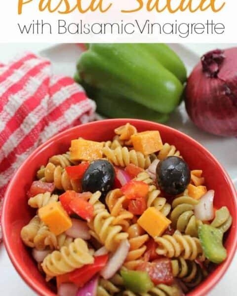 Pasta Salad with Balsamic Vinaigrette Recipe