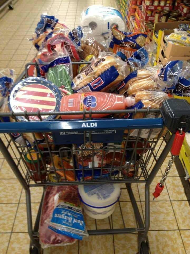 aldi cart