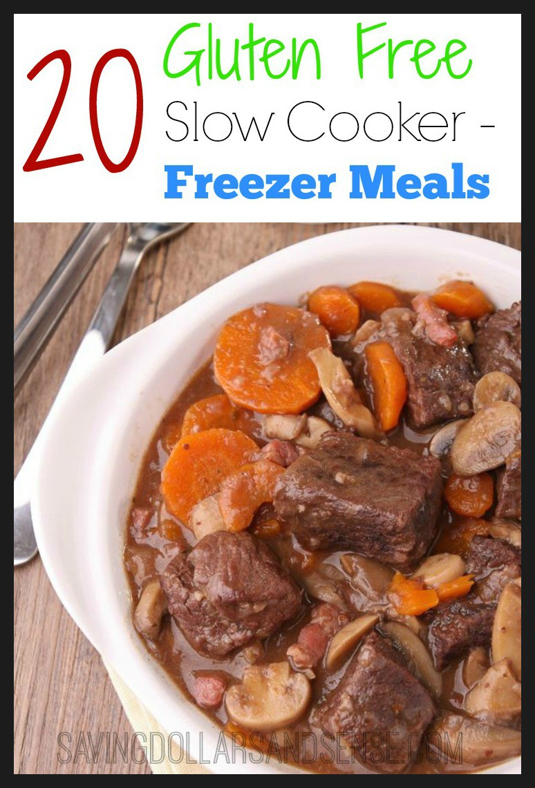 20 Gluten Free Slow Cooker Freezer Meals