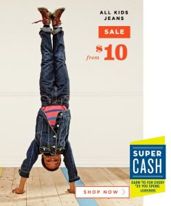 Old Navy $10 Jeans Sale