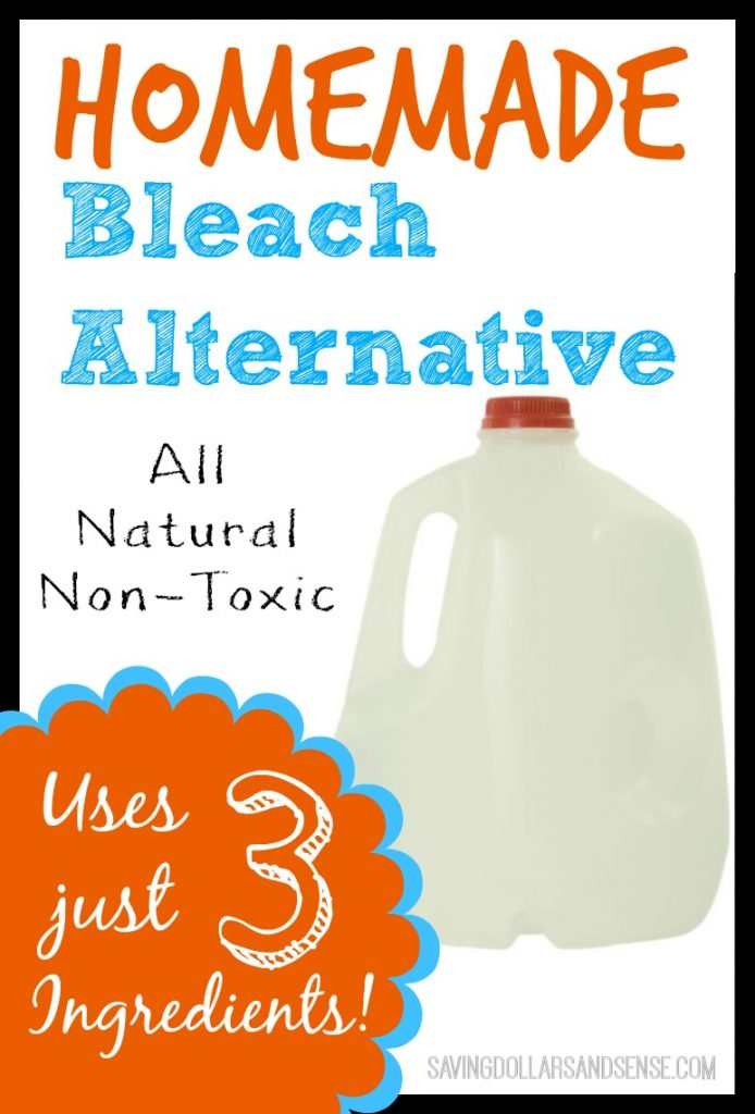 Homemade Bleach Alternative