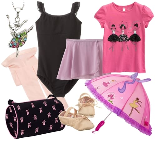 After school ballet outfit, frugal fashion Friday.