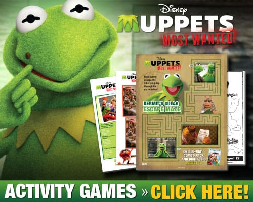Disney Muppets Most Wanted FREE Activity Games