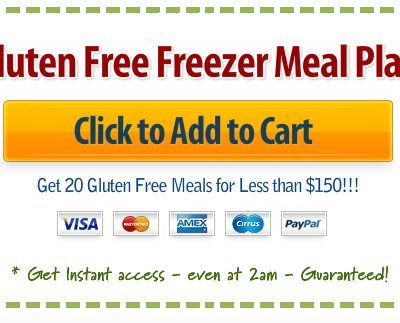 Gluten Free Slow Cooker Freezer Meal Plan