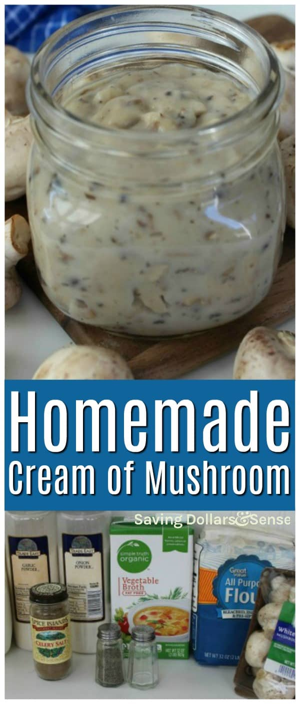 cream of mushroom recipes