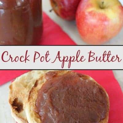 Crock Pot Apple Butter