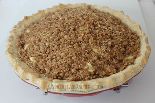 Traditional Dutch Apple Pie