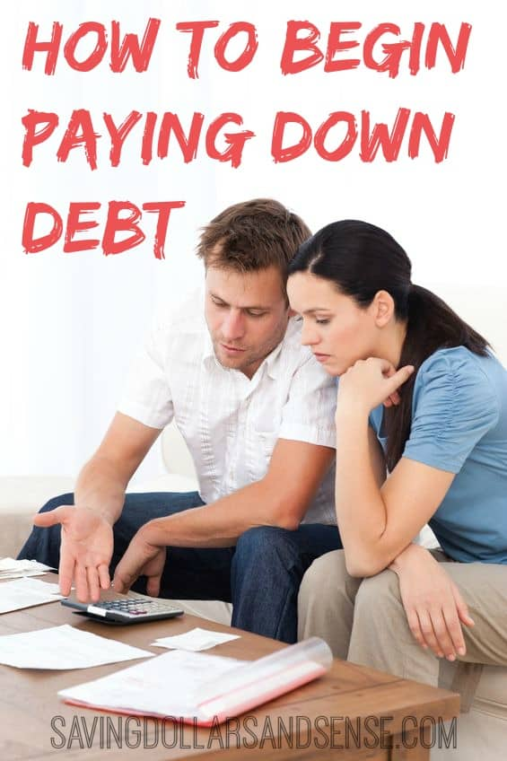 How to Begin Paying Down Debt