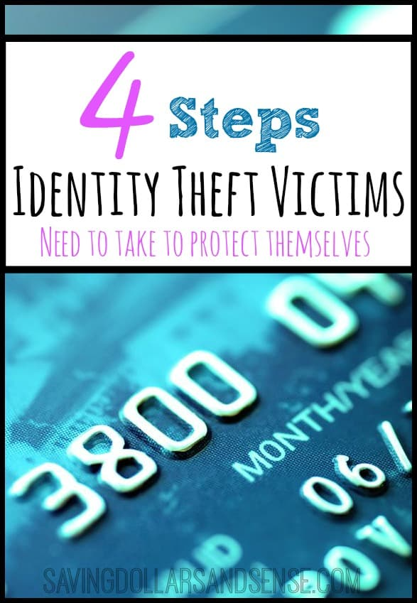 Steps Identity Theft Victims Need to Take