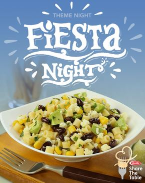 Fiesta night. Tips For Creating Meaningful Family Meals