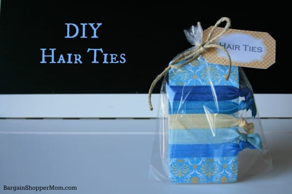 Homemade No Snag Hair Ties