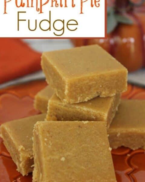 Pumpkin Pie Fudge Recipe