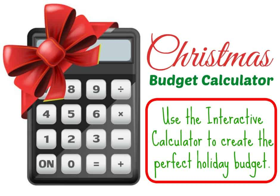 christmas budget calculator saving dollars sense