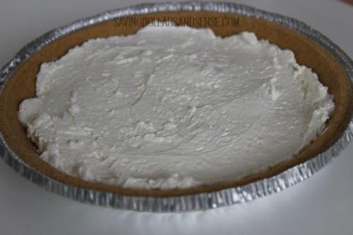 no bake pumpkin pie process 3