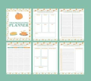 printable thanksgiving dinner plan