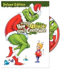 How The Grinch Stole Christmas DVD.