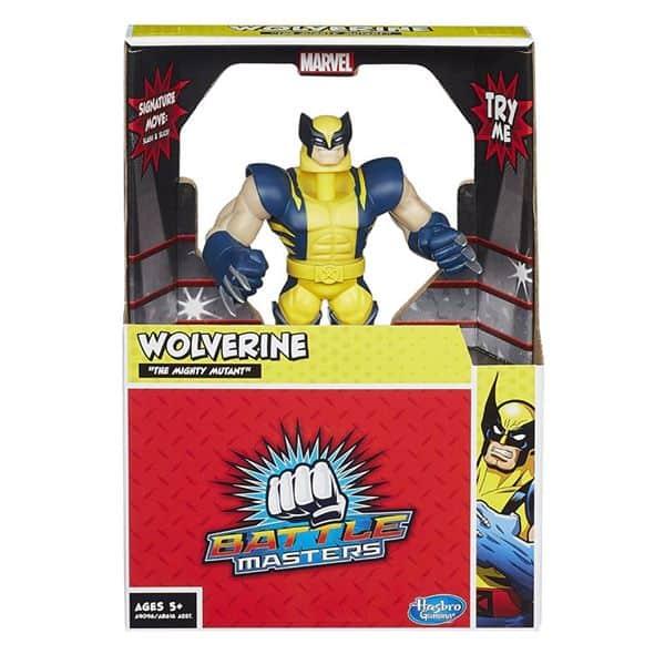Wolverine action figure.