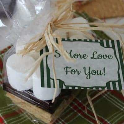 Christmas S'Mores + Free Printable Tags