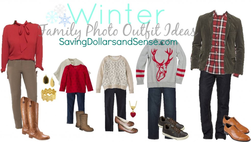 SDS RedBrown Family Photo Fashion Board