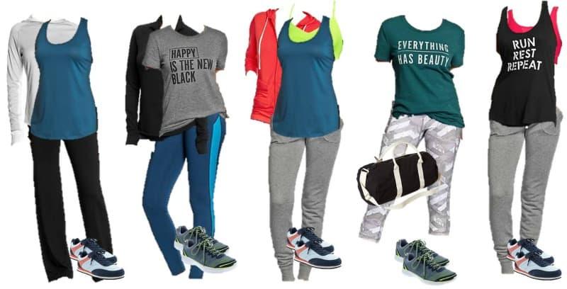 Old Navy Mix & Match Workout Wardrobe
