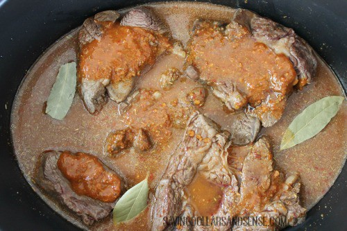 Barbacoa slow cooker