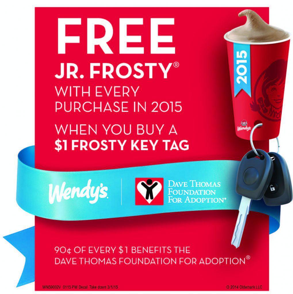 Frosty Key Tags