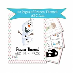 Free Frozen Activity Pack!