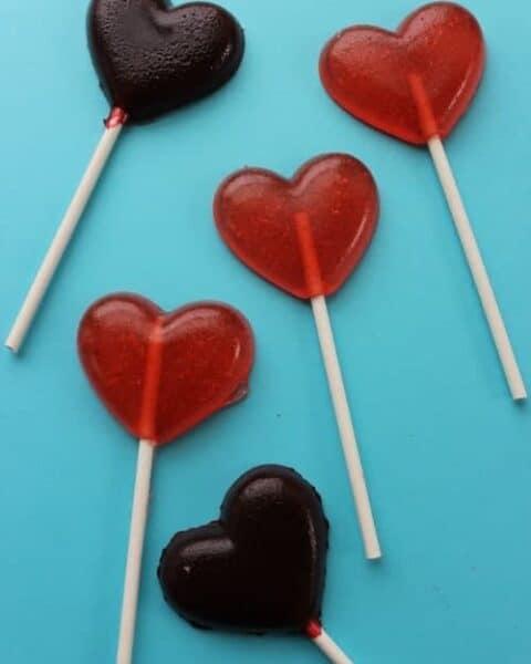 Valentine Suckers Recipe