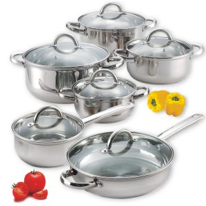 Family Favorite Knorr Dinner Giveaway: Stainless Cookware Set + $150 Meijer Card