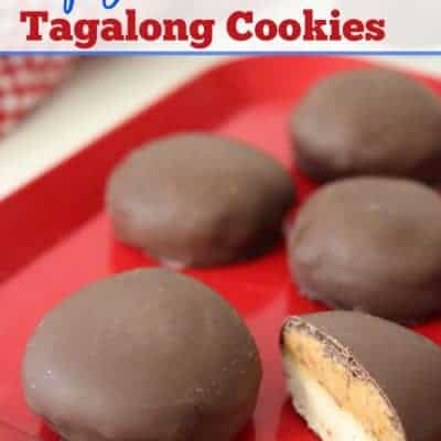 Copycat Tagalong Cookies