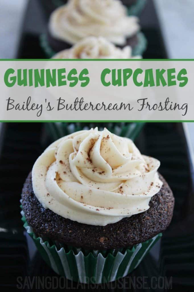 Guinness Cupcakes Recipe