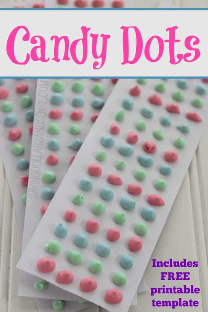 Homemade Candy Dots