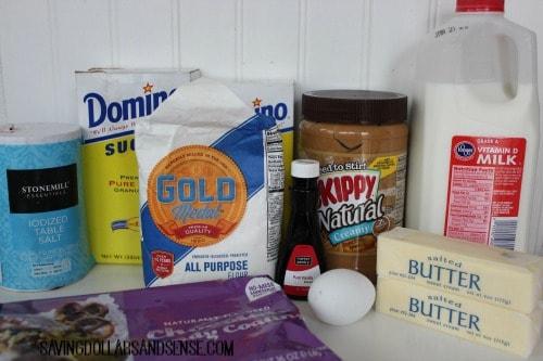 Tagalong ingredients