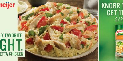 Knorr Creamy Bruschetta Chicken