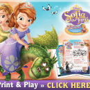 Free Sophia the First Activity Sheets
