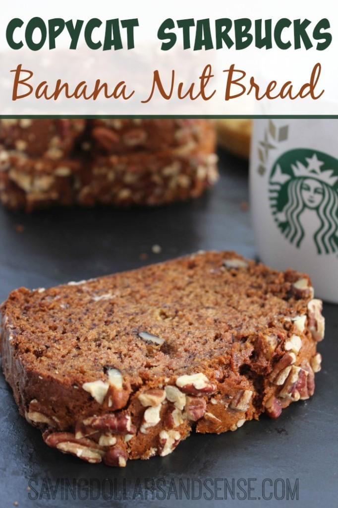 Starbucks Banana Loaf Cake Recipe
