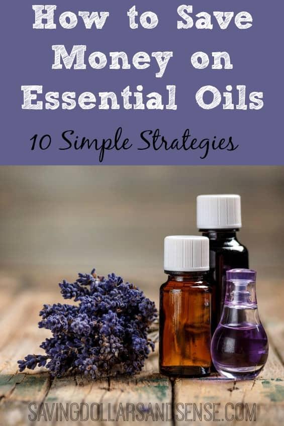 save money on essential oils