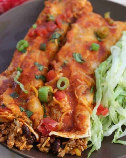 Easy Oven Baked Beef Enchiladas Recipe