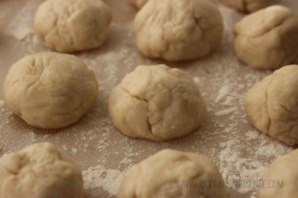 Homemade Tortila Dough