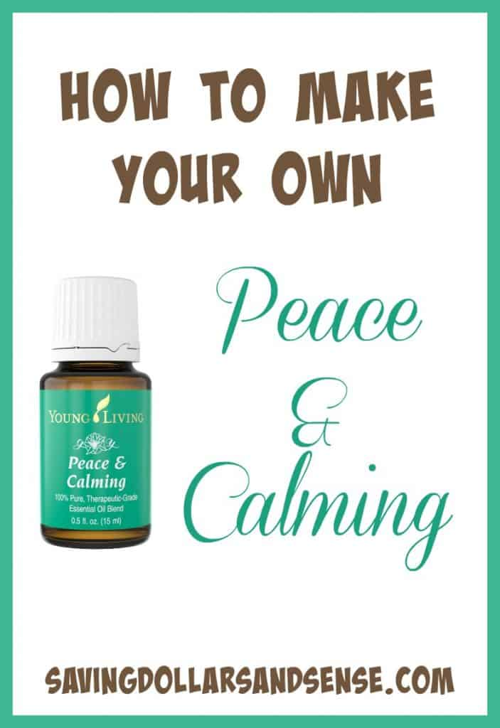 How to Make Your Own Peace & Calming